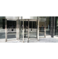 Three or Four Wing Manual Revolving Door image