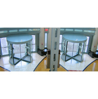 Three and Four Wing Manual Revolving Door image