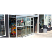BYPASS™ Dual Sliding Pedestrian Control Automatic Door System image