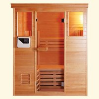 Modular Traditional Dry Sauna Room (For three persons)  image