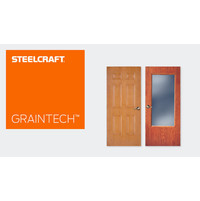 GrainTech™ Series Steel Doors image