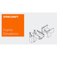 Architectural Stick System Steel Frames - Frame Elevations image