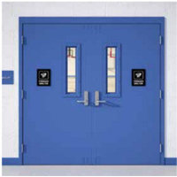 Paladin™ PW Glass Light Series Tornado Doors image