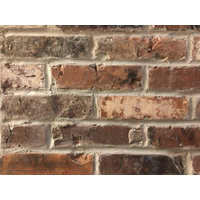Baltimore Blend Reclaimed Thin Brick Veneer image