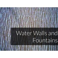 Water Walls and Fountains image