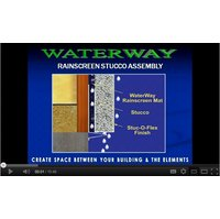 WaterWay Rainscreen Stucco / Step by Step   image