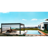 Retractable Fabric Roof Pergola Awnings - Residential image