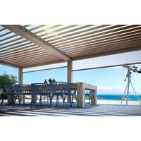 Adjustable Motorized Louvered Roof Pergola Awnings image