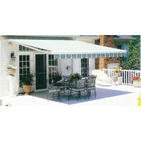 Retractable Lateral Arm Fabric Patio and Deck Awnings image