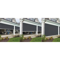 Retractable Roll Down Mastershade SC4500 Zipper Shades image