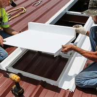 Skylight Mounting System for R-Panel Metal Roofs image