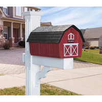 Vinyl Mailbox Post  image