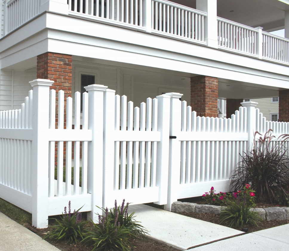 New England Picket Fence