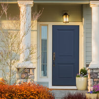 Edgewood® Wood-Edge Steel Doors image