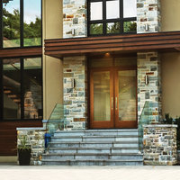 Timberline Textured Fiberglass Doors image