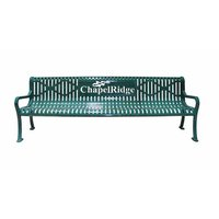 Personalized Diamond Pattern Bench image