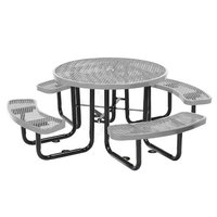 Round Table with Benches image