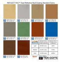 REFLECT-TEC® STANDARD COLORS image