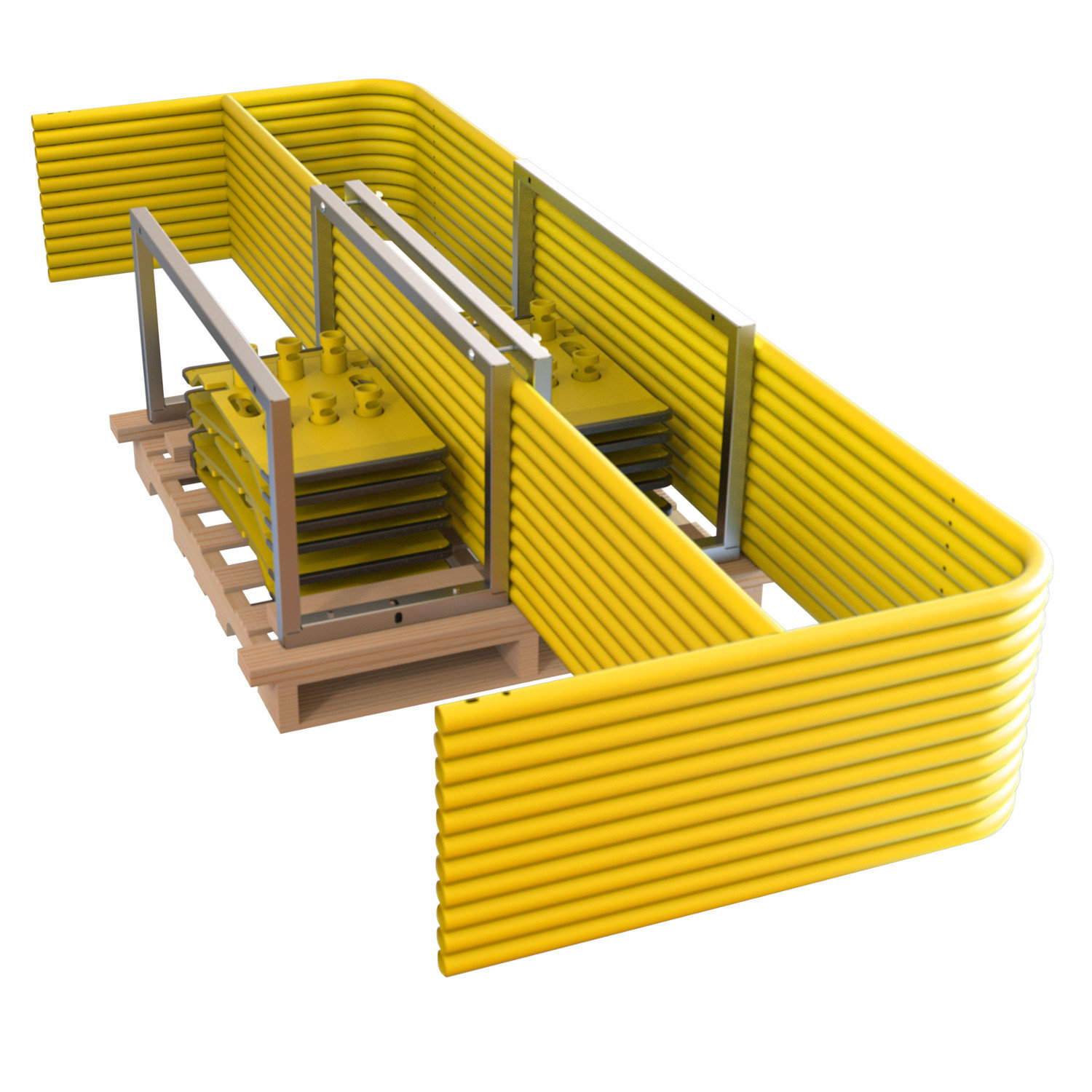 Guardrail Pallet Kit & Stack Pallet Kit