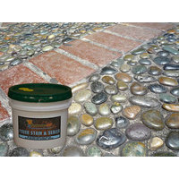 Paver Stain and Sealer image