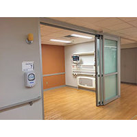 Single Telescoping Trackless Sliding Door image