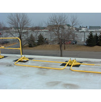 StealthRail - Folding Roof Safety Rail System - BLUEWATER image