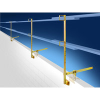 ParaClamp - Parapet Safety Guard Rail System - BLUEWATER image