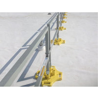 SafetyRail 2000FG - Fiberglass Guardrail System - BLUEWATER image