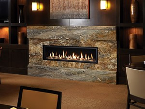 Manufactured Gas Fireplace