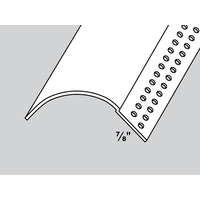 "1 1/2"" R. Bullnose Kerfed Corner Bead image"