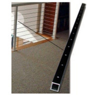 "42"" Long Black Aluminum Cable Brace image"
