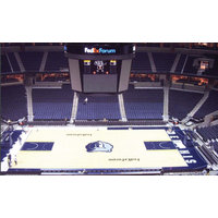 Flexible duct wrap system fire-protects FedEx Forum. image