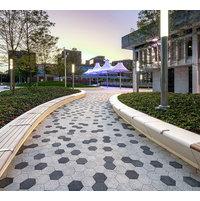 Geometric Pavers image