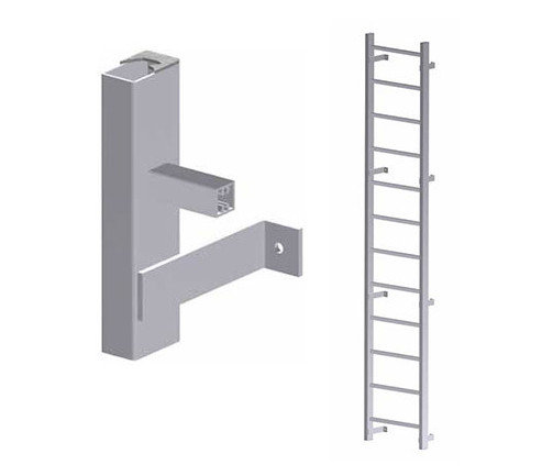 Hatch Access Heavy Duty Vertical Ladder