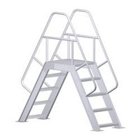 Crossover w/ Platform Ladder image