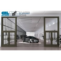 Elephant Door Operable Storefront System image