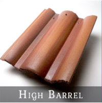 High Barrel (Spanish) Roof Tile image