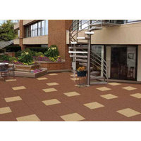 Rubber Interlocking Roofing Pavers image