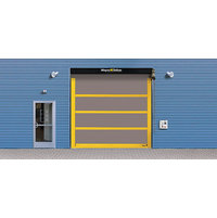 Strutted Exterior High Speed  Fabric Door  image