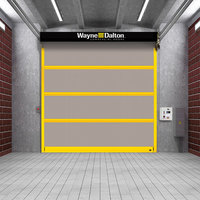 Strutted Interior High Speed Fabric Door  image