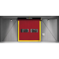 Interior High Speed Fabric Door  image