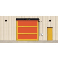 Exterior Heavy-Duty High Speed Fabric Door  image