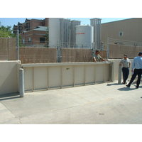 Horizontally and Vertically Sliding Flood Barriers image