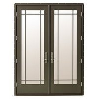 Integrated Door Opening Assemblies