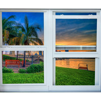 Aluminum Single Hung Window image