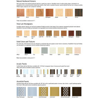Accordion Door Wood & Color Options image