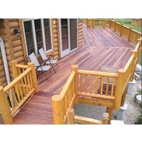 Natural Wood Decking image