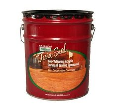 Non Yellowing Water Based Sealer For Decorative Concrete