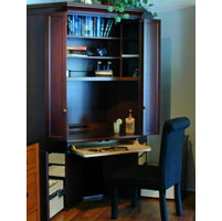 Corner Cupboards, Desks, Entertainment Centers image