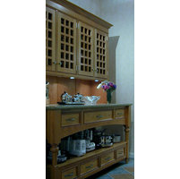 Hutch / Cupboards (instead of wall hung cabinets) image